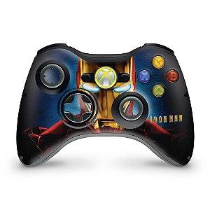 Skin Xbox 360 Controle - Homem De Ferro #b
