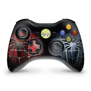 Skin Xbox 360 Controle - Homem-aranha #b