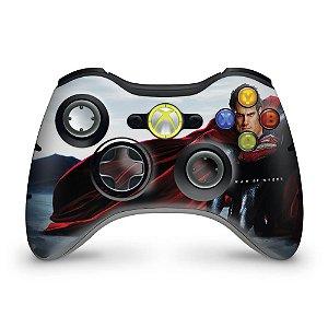 Skin Xbox 360 Controle - Superman