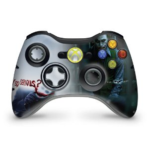 Skin Xbox 360 Controle - Coringa Joker #a