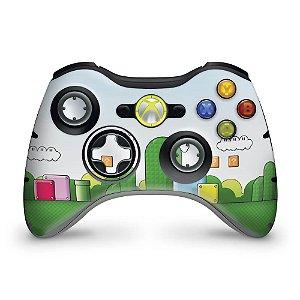 Skin Xbox 360 Controle - Super Mario Bros.