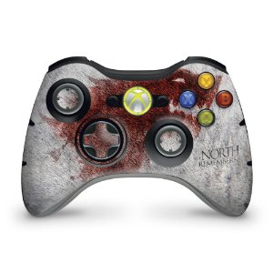 Skin Xbox 360 Controle - Game Of Thrones #a