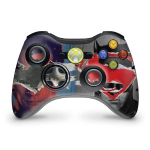 Skin Xbox 360 Controle - Batman Vs Superman