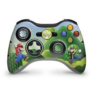 Skin Xbox 360 Controle - Mario & Luigi
