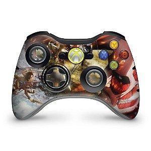 Skin Xbox 360 Controle - Attack On Titan #a