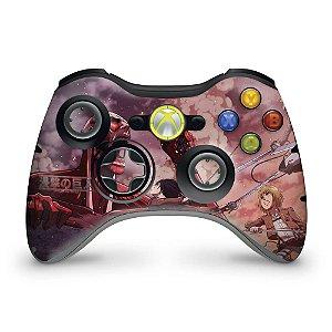 Skin Xbox 360 Controle - Attack On Titan #b
