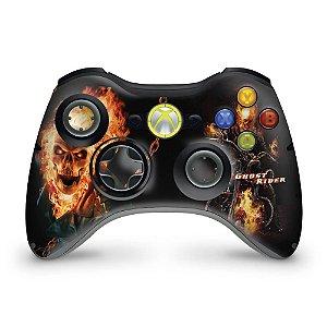 Skin Xbox 360 Controle - Motoqueiro Fantasma A