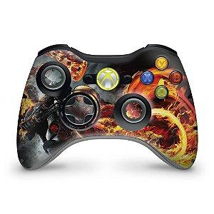 Skin Xbox 360 Controle - Motoqueiro Fantasma B