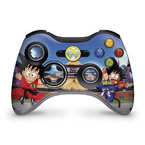 Skin Xbox 360 Controle - Dragon Ball Clássico