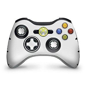 Skin Xbox 360 Controle - Branco