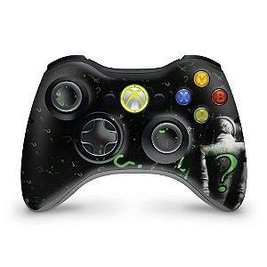 Skin Xbox 360 Controle - Charada Batman