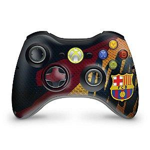 Skin Xbox 360 Controle - Barcelona