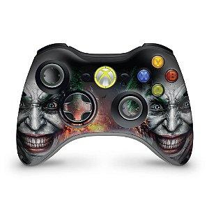 Skin Xbox 360 Controle - Coringa Joker #b