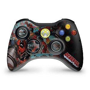 Skin Xbox 360 Controle - Deadpool
