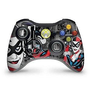 Skin Xbox 360 Controle - Arlequina Harley Quinn