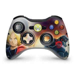 Skin Xbox 360 Controle - Fullmetal Alchemist