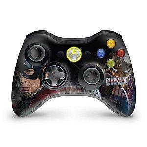 Skin Xbox 360 Controle - Capitão America B