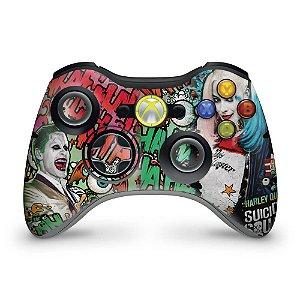Skin Xbox 360 Controle - Esquadrão Suicida #b