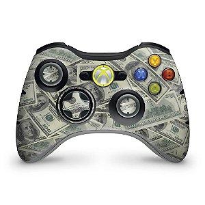 Skin Xbox 360 Controle - Dollar Money Dinheiro