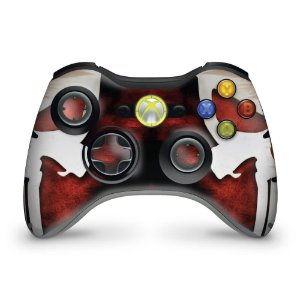 Skin Xbox 360 Controle - The Punisher Justiceiro