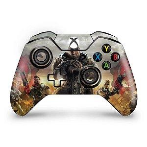Skin Xbox One Fat Controle - Gears of War