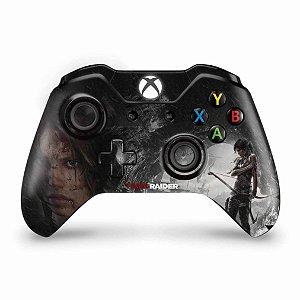 Skin Xbox One Fat Controle - Tomb Raider