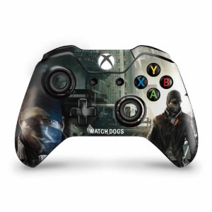 Skin Xbox One Fat Controle - Watch Dogs
