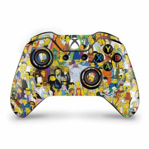 Skin Xbox One Fat Controle - The Simpsons