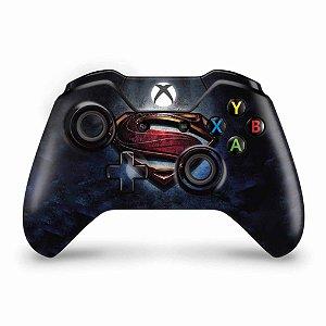 Skin Xbox One Fat Controle - Superman - Super Homem