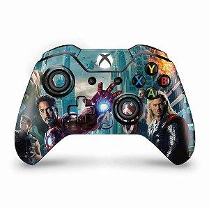 Skin Xbox One Fat Controle - The Avengers - Os Vingadores
