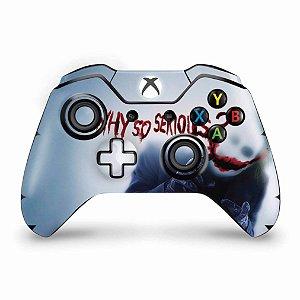 Skin Xbox One Fat Controle - Coringa - Joker