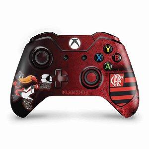 Skin Xbox One Fat Controle - Flamengo