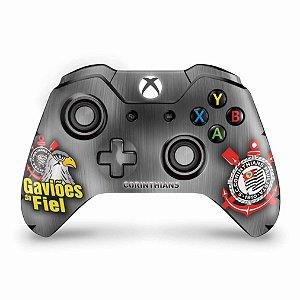 Skin Xbox One Fat Controle - Corinthians