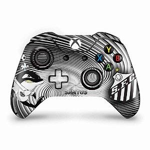 Skin Xbox One Fat Controle - Santos