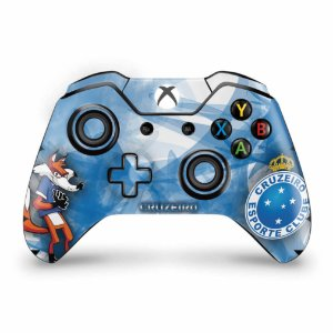 Skin Xbox One Fat Controle - Cruzeiro