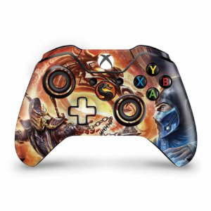 Skin Xbox One Fat Controle - Mortal Kombat