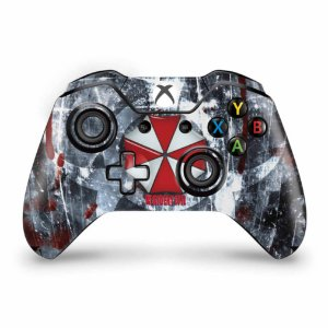 Skin Xbox One Fat Controle - Resident Evil