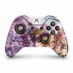 Skin Xbox One Fat Controle - Street Fighter