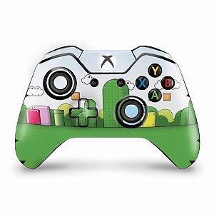 Skin Xbox One Fat Controle - Super Mario
