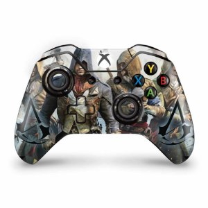 Skin Xbox One Fat Controle - Assassins Creed Unity