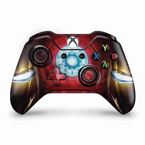 Skin Xbox One Fat Controle - Iron Man - Homem de Ferro