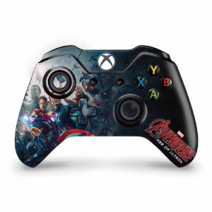 Skin Xbox One Fat Controle - Avengers - Age of Ultron