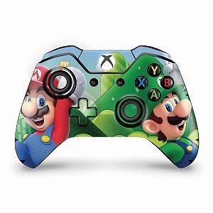Skin Xbox One Fat Controle - Super Mario Bros