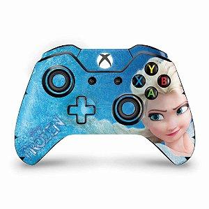 Skin Xbox One Fat Controle - Frozen