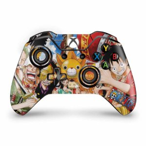 Skin Xbox One Fat Controle - One Piece