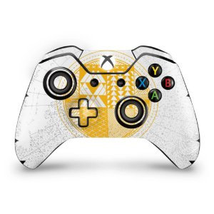 Skin Xbox One Fat Controle - Destiny Limited Edition
