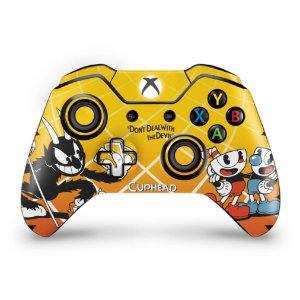 Skin Xbox One Fat Controle - Cuphead