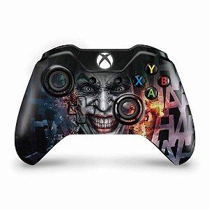 Skin Xbox One Fat Controle - Coringa - Joker #A