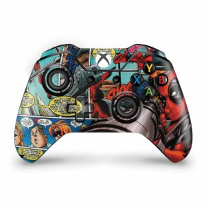 Skin Xbox One Fat Controle - Deadpool