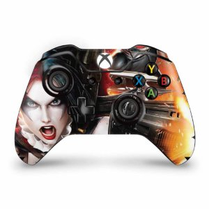 Skin Xbox One Fat Controle - Arlequina Harley Quinn #B